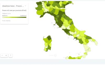 La mappa dei prezzi delle case: quanto ti costa un'abitazione nelle varie province italiane