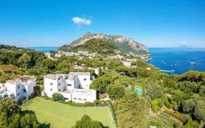 Capri, in vendita la villa dove Totò passava le vacanze